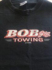 USED MENS T SHIRT - BOB Jr's TOWING INC - 24hr TOWING SERVICE - 3XL