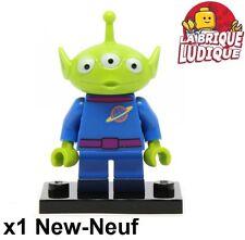 Lego - Figurine Minifig Minifigurine série Disney Pizza Planet Alien vert NEUF