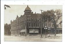 Real Photo Postcard Post Card Mason City Iowa Ia Hotel Cerro Gordo