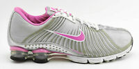 VINTAGE 2008 NIKE SHOX EXPERIENCE RUNNING SHOES SIZE 10 GRAY SILVER PINK 318685