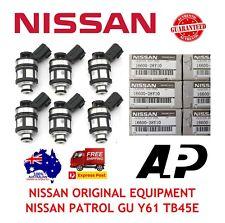 1 x FUEL INJECTORS for NISSAN PATROL GU Y61 TB45E 4.5L 97-00 INJECTOR 4WD TB45