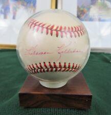Nl Baseball Scott Cooper Cardinals Red Sox Royals Signed Rawlings Vintage Off Balls