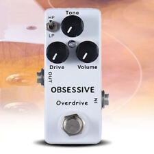 MOSKY Obsessive Overdrive Mini Electric Guitar Effect Pedal True Bypass A1 Tone