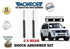FOR MITSUBISHI SHOGUN PAJERO 3.2 DID 3.8 2006--> NEW 2 X REAR SHOCK ABSORBER SET