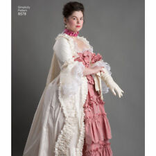 S8578 Sewing Pattern Costume 18th Century Gown Dress Historical Costume Sz 14-22