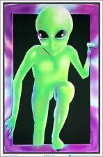 Alien Blacklight Poster 23 x 35