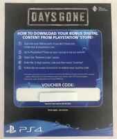 Days Gone | Bonus Digital Content DLC Code | Dynamic Theme + Bike Skins + Skills