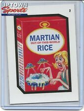 2020 Topps On-Demand Set #1 – Mars Attacks Wacky Packages - CARD 2 MARTIAN RICE