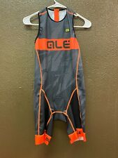Alé Cycling Record Triathlon Suit - Back Zip - Men's Medium