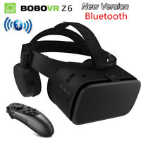 3D Glasses Virtual Reality VR Headset Binocular With Remote For iPhone Android