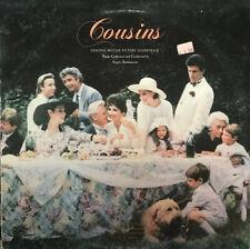 COUSINS OST Angelo Badalamenti WARNER BROS LP NM promo 1989