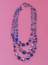Rhinestone Necklace Vintage Costume Jewellery (1960s)