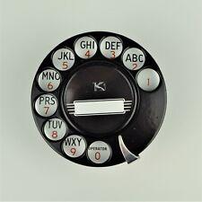 Vintage Antique Kellogg 15G Rotary Dial - Fully Restored - SKU 20669