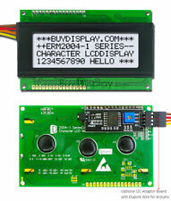 White IIC/I2C/TWI Character 20x4 LCD Display Module for Arduino w/Wire,Library