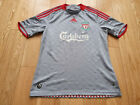 Mens adidas Liverpool Away football shirt 2008 - 2009 Size M