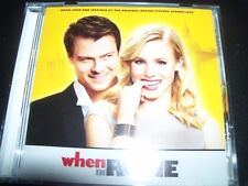When In Rome Original Motion Picture Soundtrack CD – Like New