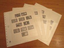 SAFE dual Nachtrag / Vordruckblätter BRD 1986 S. Nr. 76-79 gebraucht TOP (1244)