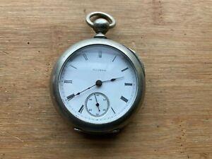 Illinois 18s 7 Jewel Key Wind Key Set Pocket Watch