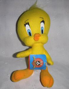 "Looney Tunes Ace Tweety Bird 10"" Plush Soft Toy Stuffed Animal"