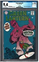 GREEN LANTERN #61 CGC 9.4 (6/68) DC COMICS white pages