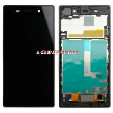 For Sony Xperia Z1 C6903 LCD Touch Screen Display Digitizer Assembly Frame Black