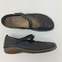 NAOT Women's EUR 39 US 8 Brown Leather Mary Jane Comfort Shoes