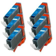 6P Cyan Quality Ink Cartridge for Canon CLI-221 MP560 iP4600 iP4700 MP620 MP640