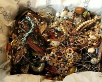 Vintage to Now Junk Drawer Jewelry Lot Craft Harvest Repair Tangles 10+ Lbs
