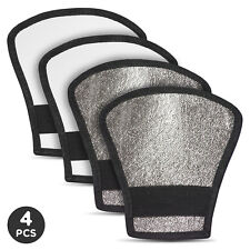 4Pack Photo Studio Reversible Flash Diffuser Silver/ White Reflector Photography