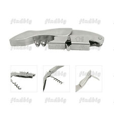 Professional Corkscrew Double hinged Waiters Wine key Stainless steel Opene
