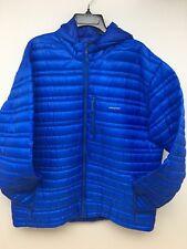 Patagonia Men's Ultralight Down Hoody Blue Jacket Size XX-Large