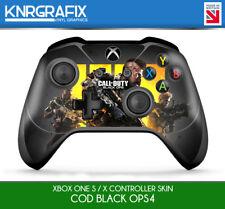 KNR9651 COD BLACK OPS 4 IIII PREMIUM XBOX ONE S & X CONTROLLER SKIN STICKER