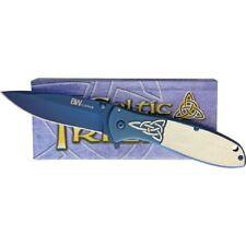 Brian Wilhoite Celtic Trinity Framelock Pocket Knife