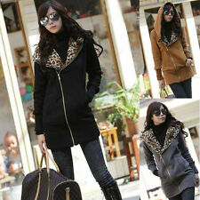 Kawaii Clothing Ropa Cute Hoodie Jacket Leopard Black Punk Harajuku Korea Japan