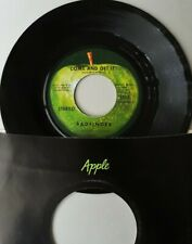 BADFINGER ~ COME AND GET IT / ROCK OF AGES ~ ORIGINAL APPLE 45rpm ~ EX...CLEAN!