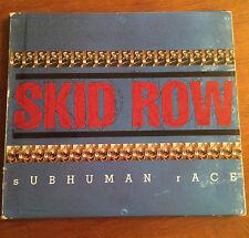 Subhuman Race - Skid Row. 1995. Hard Rock. Digipack