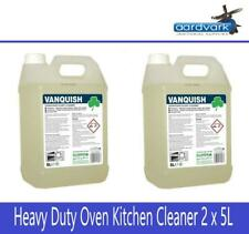 Clover 304 Vanquish Heavy Duty Oven & Food Plant Cleaner 5 Litre - Pack of 2