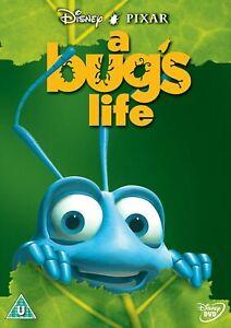 A Bug's Life - Disney Pixar Animation - 1999 - DVD - Like New