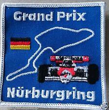 Vintage Sew-on Patch Grand Prix Nurburgring