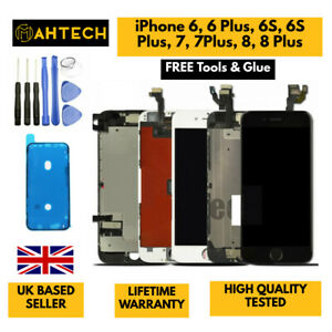 LCD Screen Replacement For iPhone 6 6S 6 Plus 7 8 Plus Digitiser Touch Screen UK