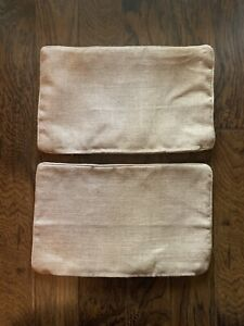 Ballard Designs Burlap Pillow Covers