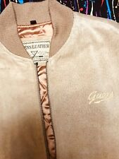 Vintage Guess Leather Jacket Sz-Small