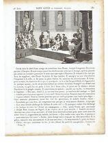 """1825 Vite dei Santi San Genesio di Roma Attore Martire """"Saint Genes le Comedien"""""""