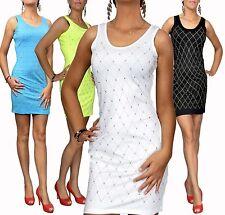 Ärmellose Hüftlang Damenblusen,-Tops & -Shirts im Tuniken-Stil für Freizeit