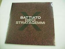 FRANCO BATTIATO - DIECI STRATAGEMMI - LP VINYL NEW SEALED 2016