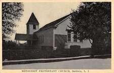 Baldwin New York Methodist Protestant Church Street View Antique Postcard K41323