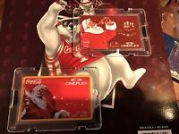 1&2 Sold Out Vintage Cocacola Santa  Cineplex Cash Cards Visa Phonecard Cataglor