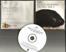 Jarvis Cocker PULP Do you Remember the First time w/ RARE EDIT PROMO CD Single
