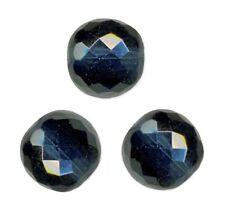 5 Perles Facettes cristal de boheme 12mm - MONTANA BLEU