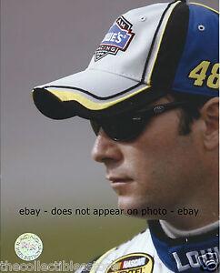 JIMMIE JOHNSON LOWES HENDRICK MOTORSPORTS NASCAR NEXTEL CUP 8 X 10 PHOTO #01